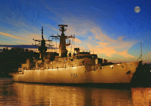 HMS Brave-Edición Limitada Arte 25