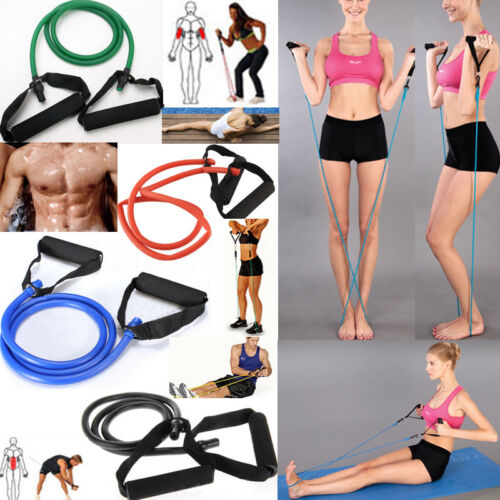 Widerstandsbänder Expander Fitnessbänder Gymnastikband Latexband Yoga Tube Band