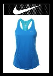 28974cd0bcbb6c NIKE WOMEN S DRI-FIT RACER BACK TANK TOP SIZE S COLOR BLUE (NEW ...