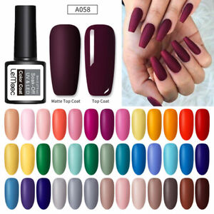 LEMOOC-8ml-Pure-Matte-Effect-Smalto-Gel-UV-Gel-Polish-Soak-off-Matte-Top-Coat
