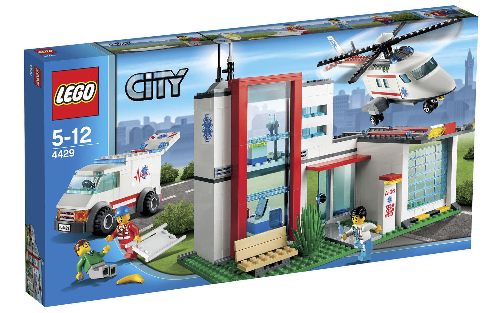 LEGO® City 4429 Helikopter Helikopter Helikopter Rettungsbasis NEW_Helicopter Rescue NEW MISB NRFB 4594d6