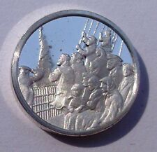 Franklin Mint Sterling Silver Mini-Ingot: 1886 Statue of Liberty Welcomes World