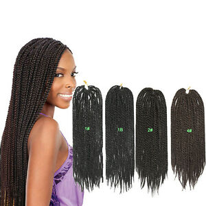 4 bundles afro senegalese twist crochet braid mambo curly 2 xpression braid 18 39 39 ebay - Crochet braids avec xpression ...