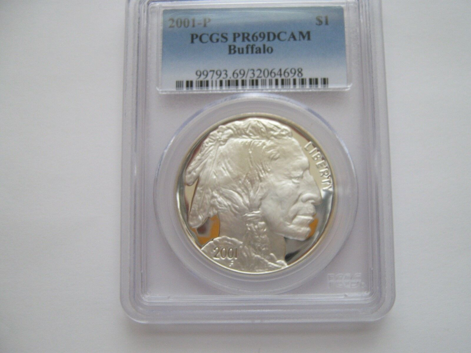 2001-D and P Set , American Buffalo , PCGS , MS 69 and