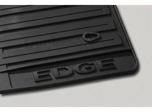 2011 2012 2013 2014 edge genuine ford black rubber all. Black Bedroom Furniture Sets. Home Design Ideas