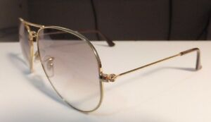 42d40d41199 Image is loading RayBan-RB3025-Aviator-Large-Metal-Gold-Prescription- Sunglasses-