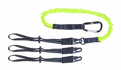 Kunys CLC 1025 Triple Tool Interchangeable End Lanyard 41-56/'/' 100-140cm 2.7kg