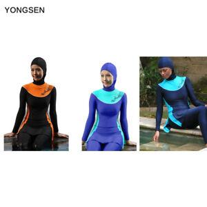 61774832ae7b8 Image is loading 2019-Islamic-Beachwear-Burkini-Modesty-Muslim-Swimwear- Women-