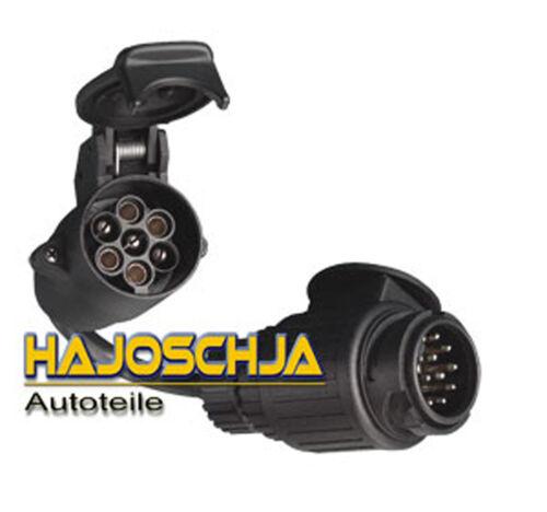 Kabeladapter 13-polig auf 7-polig Anhänger PKW Adapter Stecker  Kabel