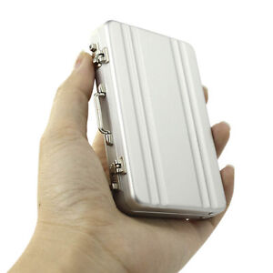 Business-Credit-Card-Name-Card-Holder-Case-Metal-Mini-Briefcase-Suitcase