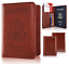 Slim-Leather-Travel-Passport-Wallet-Holder-RFID-Blocking-ID-Card-Case-Cover-US thumbnail 19