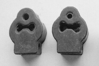 NEW 1998-2011 FORD CROWN VICTORIA TOWNCAR MUFFLER RUBBER HANGERS WITH BRACKET 2