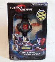 Spy Gear Tri-optics Video Watch 3 Camera Views Record & Play Videos & Photos