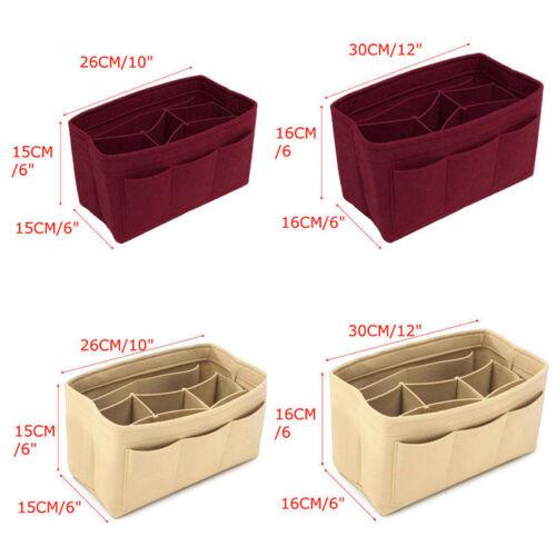 Taschenorganizer Filztasche Tasche Handtaschen Innentasche Handtaschenorganizer