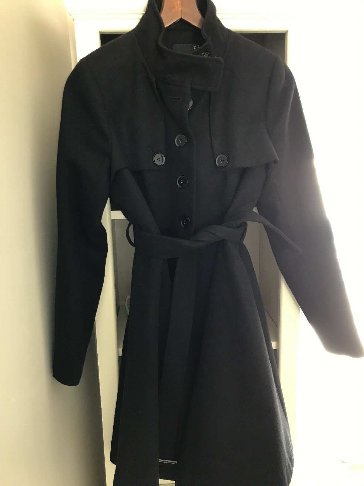 Maternity Pea coat Size 8 By ASOS