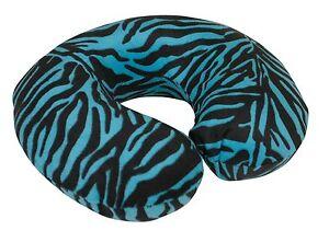 Cuscino Collo Da Viaggio Tiger.Dettagli Su Blue Tiger Animal Print Velluto Memory Foam Da Viaggio Supporto Collo Cuscino Pillow Mostra Il Titolo Originale