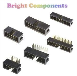 """0.1/"""" 1st CLASS POST 5x 20 Way PCB Header Socket 2.54mm"""
