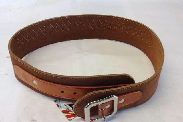 Galco 1880 Western Cartridge Belt 38/357,  Size 40 Tan, Part #W-DR357-40