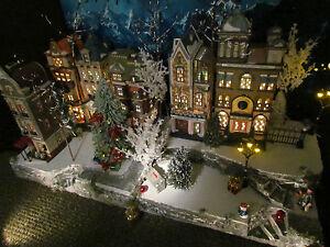 Christmas Village Platform.Details About Multi Level Curved Christmas Village Display Platform Base 42x12 Dept 56 Lemax