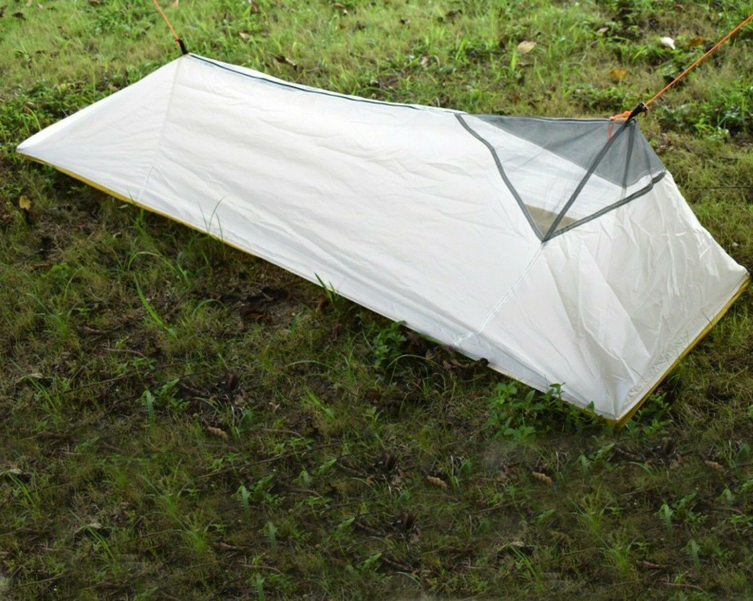 4 Seasons Inner Mesh Tent Outdoor Summer Camping Tent Hiking 1 -2 Person Nylon