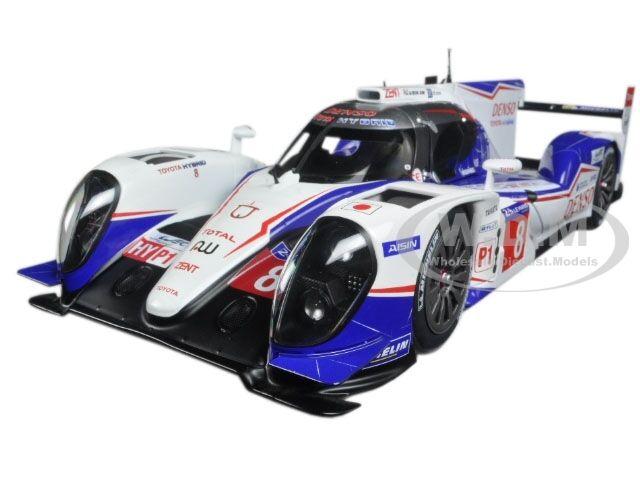 Toyota TS040 Hybrid Limited Edition Mans 2014 A. Davidson WEC Champion 1 18 Autoart 81416