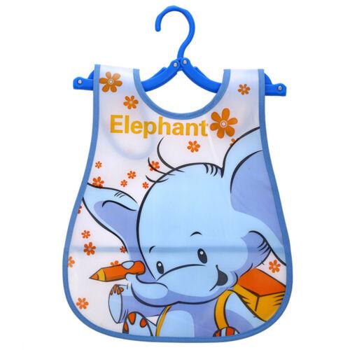 Newborn Cute Kids Waterproof Bibs Baby Soft Cartoon Bib Toddler Saliva Dripping