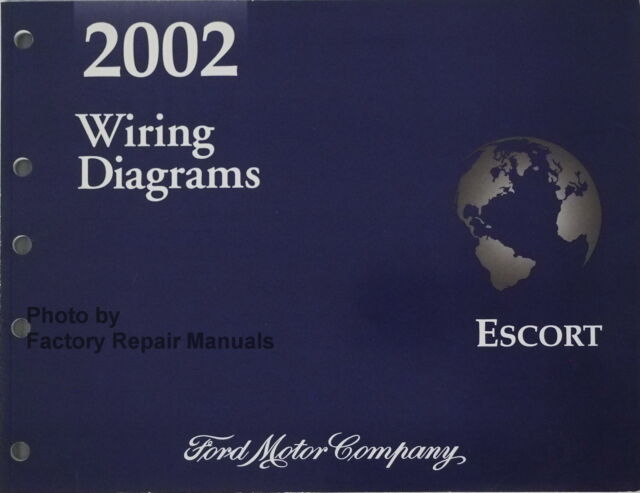 2002 Ford Escort Electrical Wiring Diagrams Original