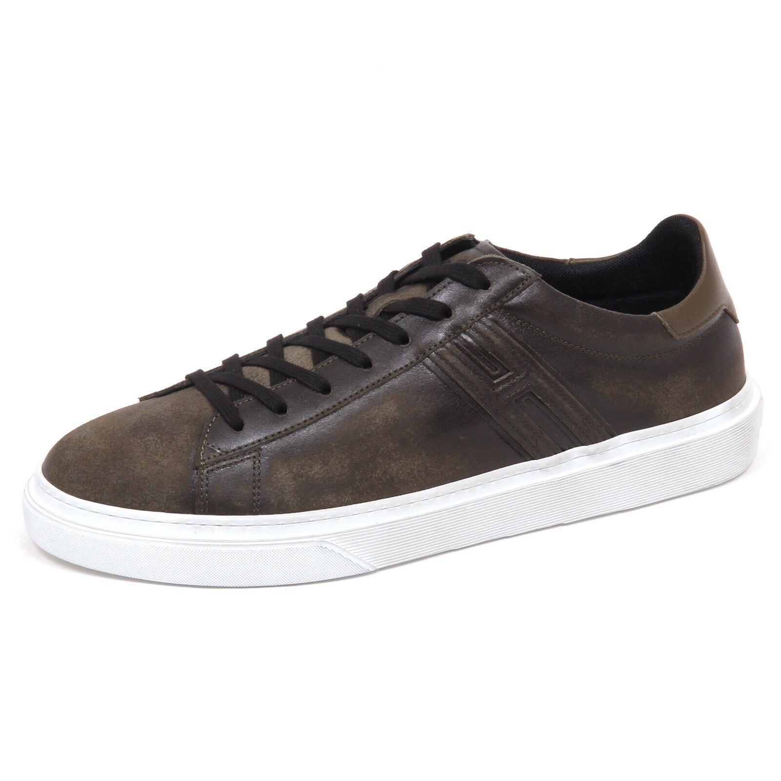 E0606 sneaker uomo green HOGAN H340 shoe man