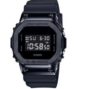 New-Casio-G-Shock-Black-PVD-Steel-Resin-Strap-Watch-GM5600B-1