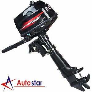 2-Stroke-6HP-Outboard-Motor-Boat-Engine-w-Water-Cooling-Heavy-Duty-Tiller-Shaft