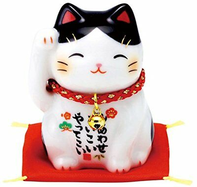 MANEKI NEKO Japanese Lucky Cat Figure Gift Kawaii Doll AM-Y 7434 from Japan*