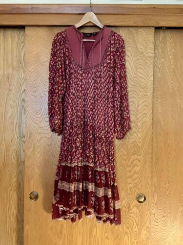 Vintage Indian Cotton Gauze Dress Small Medium She