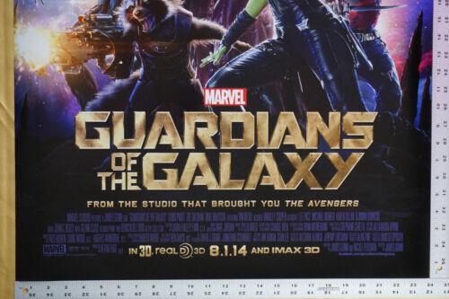 Guardians of the Galaxy Groot Rocket Drax Gamora Marvel Poster 24X36 New   GTG1