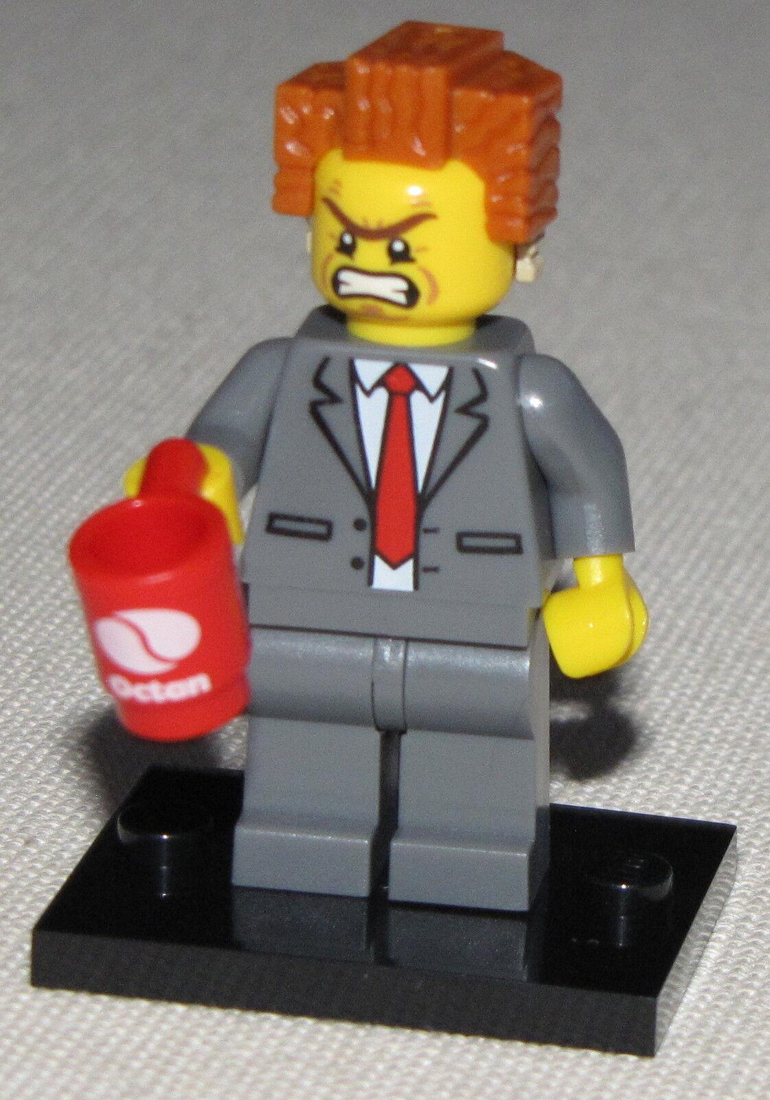 Lego Nuevo Serie 12 The Movie Presidente Business Figura Higo Minifigura 71004