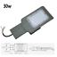 FARO-PALO-LED-STRADALE-LAMPIONE-PARETE-LUCE-INDUSTRIALE-ESTERNO-IP65-ARMATURA miniatura 2