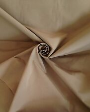 14 Metres Laura Ashley Cotton Canvas Weave Curtain Upholstery Fabric In Twine