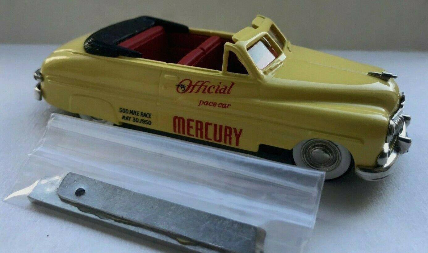 RARE BROOKLIN MODELS 1.43 1950 Mercury Convertible Indianapolis Pace Car BRK 15x