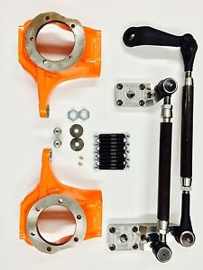 GM//CHEVY//FORD//JEEP//DODGE DANA 60 COMPLETE 1-TON CROSSOVER STEERING KIT-W// STUDS