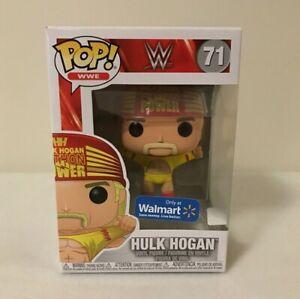Vinyl Figure #71 WWE Hulk Hogan Wrestlemania 3 Exclusive Pop