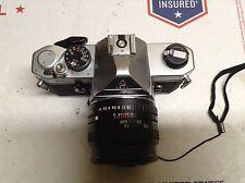 Pentax MX  35mm SLR Film Camera Body With 50mm f1.7 Lens