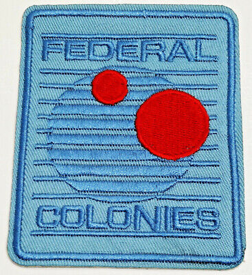 "Total Recall Movie Federal Colonies Logo 3.5/"" Embroidered Patch"