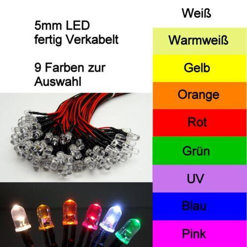 LED 5mm GRÜN 20//50//100//500 LEUCHTDIODEN SUPERHELL RUNDKOPF AUSWAHL