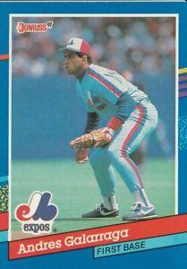 Andres-Galarraga-Montreal-Expos-1991-Donruss-039-91-Series-1-Card-Card-No-68