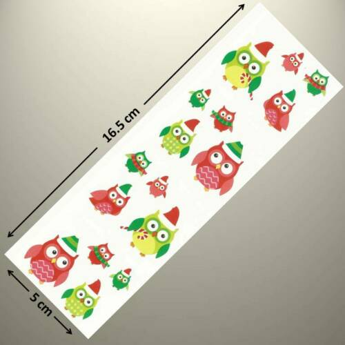 CHRISTMAS OWLS Up to 20/% OFF!!! Mrs Grossman/'s Sticker