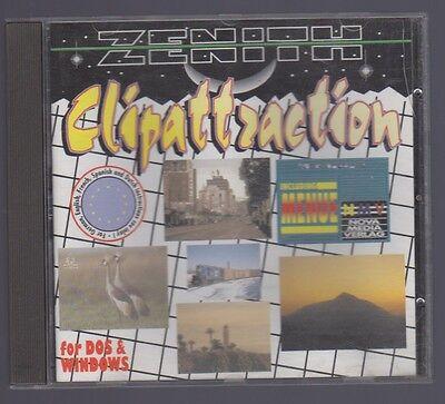 # Software-cd: Clipattraction (über 1.000 Cliparts) # Dauerhafte Modellierung