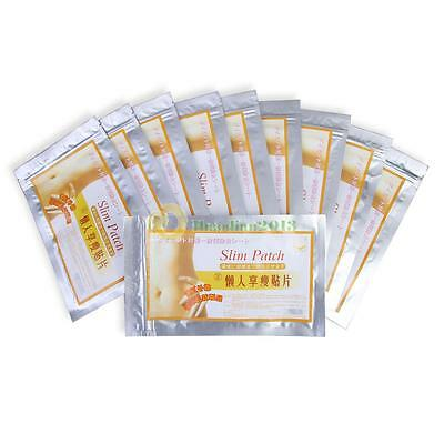 100pcs Effective Weight Loss Diet Patch Slim Trim Patches Body Wraps Applicator
