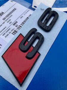 Logo AUDI S6 A6 RS6 Authentic Badge Original 4K0071804 TFSI Quattro Rare New