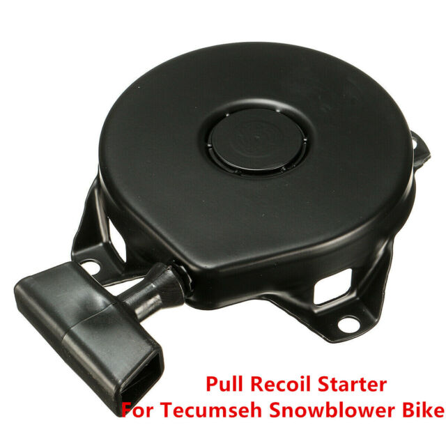 Recoil Starter Lawn Mower Recoil Pull Start with Starters Assembly Fit for Tecumsehs 590420A 590706 16575 Lawnmower Starter