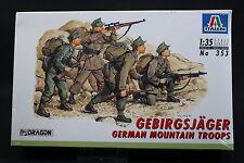 XX030 ITALERI 1/35 maquette figurine 353 German Mountain Troops GEBIRGSJÄGER