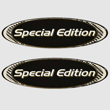 Rinker Boat Raised Decal 218446Captiva 5 x 2 1//4 Inch Black Gold